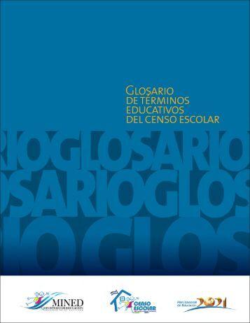 Glosario de Términos Educativos del Censo Escolar - EQUIP123.net