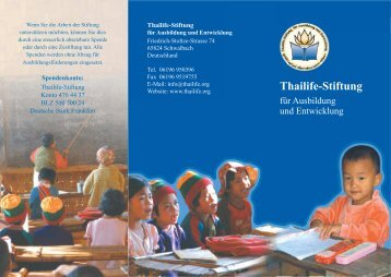Thailife-Stiftung