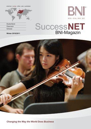 SuccessNET - Über BNI