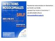Ventilator-associated Pneumonia - SRLF