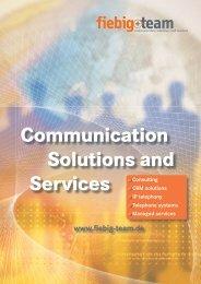Managed services - Fiebig + Team Gmbh