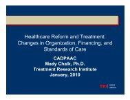 Healthcare Reform and Treatment - Alameda County Behavioral ...