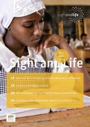 Sight and Life Magazine 3/2011 - DSM