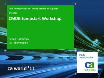 PowerPoint Template - Dark Blues - Calibri font - CA Technologies