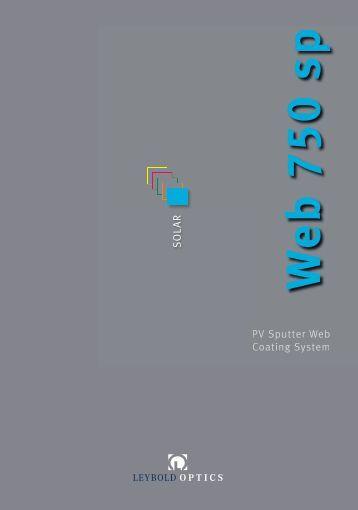 Web750sp - Leybold Optics GmbH