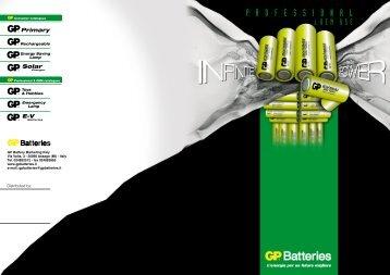 P R O F E S S I O N A L - GP Batteries