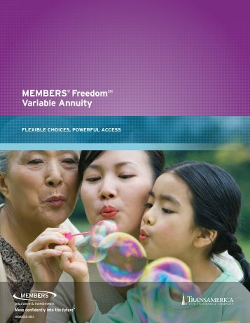 MEMBErS® FreedomSM Variable annuity - CUNA Mutual Group