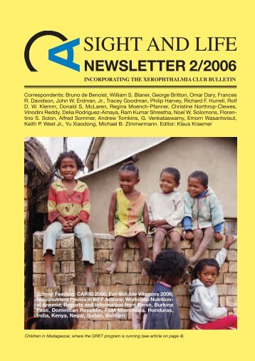 Newsletter 02 2006.pdf - Sight and Life