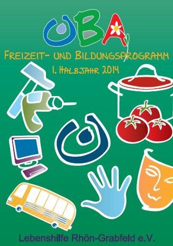 1. Halbjahr 2014 - Lebenshilfe-rhoen-grabfeld.de