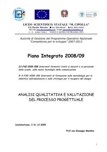 valutaz efficacia formazione docente - Liceo Scientifico Michele ...