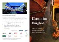 Klassik im Burghof