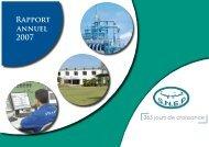 Rapport annuel d'activité 2007