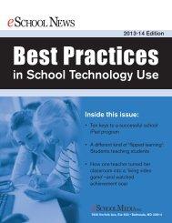 Best Practices in School Technology Use - eSchool News