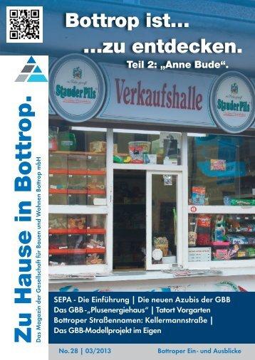 """Zuhause in Bottrop"""" No.28 - Gesellschaft für Bauen und Wohnen ..."""