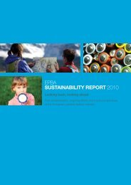 EPBA Sustainability report - European Portable Battery Association