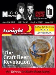 The Craft Beer Revolution - tonight Newspaper