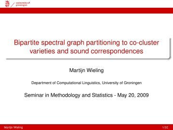 Wieling-Bipartite-Spectral-Clustering-2009