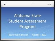 Alabama State Student Assessment Program