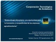 Corporación Tecnológica de Andalucía - Red de Espacios ...