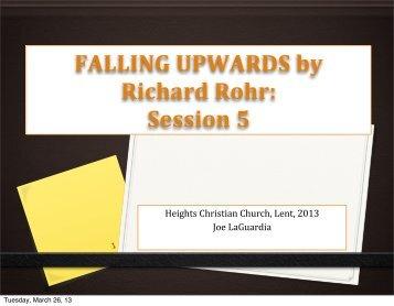 Week 5 - Heights Christian Church