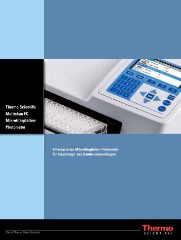 Thermo Scientific Multiskan FC Mikrotiterplatten- Photometer
