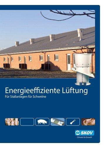 Energieeffiziente Lüftung - Skov A/S