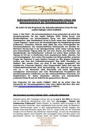 Schwabenakademie Irsee_Programm Zweites Halbjahr 2010