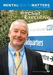 Executive - West London Mental Health NHS Trust