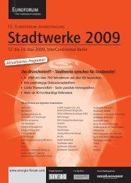 12. bis 14. Mai 2009, InterContinental Berlin - Meteomedia AG