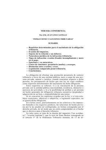 Infracciones y sanciones tributarias - Ipdt.org