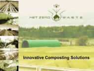 Innovative Composting Solutions - Compost Council of Canada