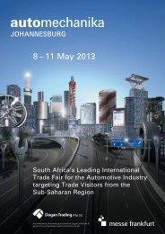 8 – 11 May 2013 - Automechanika
