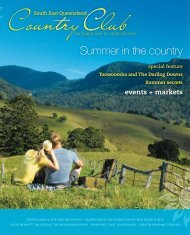 Summer in the country - Queensland Holidays