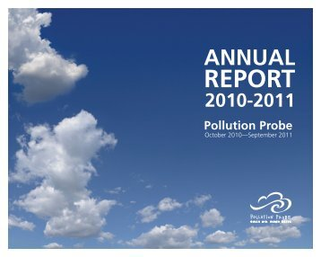 Annual Report - Pollution Probe