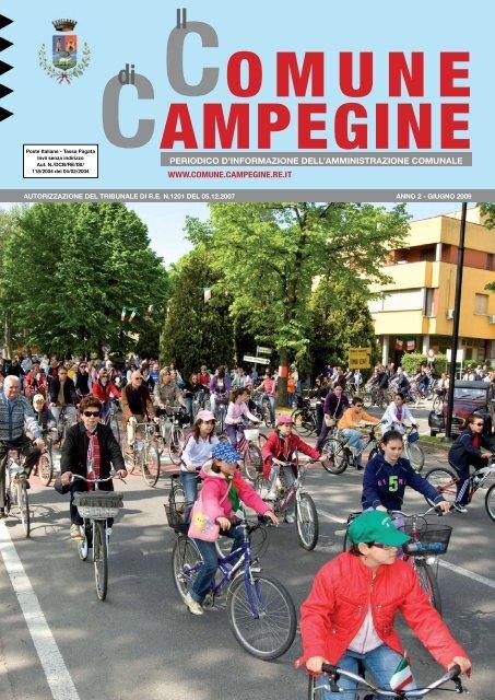 Giugno 2009 - Comune di Campegine