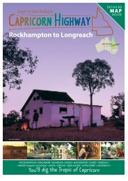 Rockhampton to Longreach - Queensland Holidays