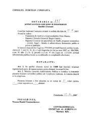 CONSILIUL JUDETEAN CONSTANTA privind acordarea unui ajutor ...