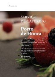 Restaurante Nacional Catering porto de honra