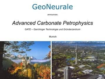 Advanced Carbonate Petrophysics - GeoNeurale