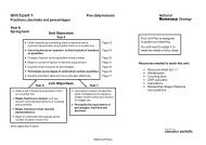 Unit 5a Plan and resources - PGCE