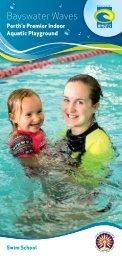 Swim School Flyer