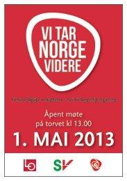 1 mai 2013 LO.indd - Fellesforbundet