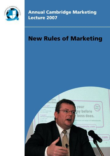 New RULES.indd - Cambridge Marketing College