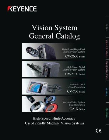 Vision System General Catalog
