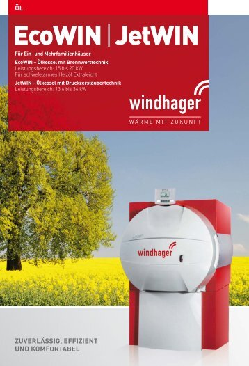 EcoWIN | JetWIN - Windhager