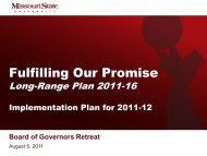 Access the presentation slides - University Blogs - Missouri State ...