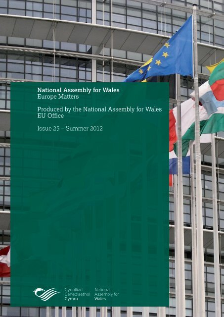 Europe Matters, Issue 25 - National Assembly for Wales