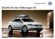Zubehör für den Volkswagen CC - Volkswagen AG