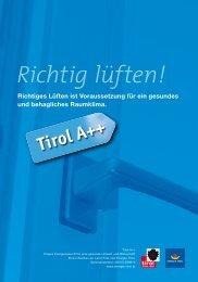 Richtig lüften! - Energie Tirol