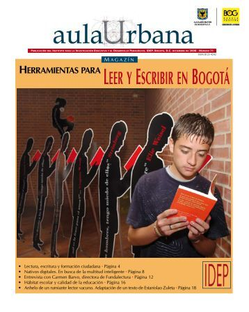 Magazin Aula Urbana Edición numero 71 - IDEP